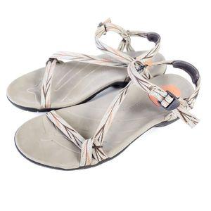 Teva Zirra Athletic Strappy Sandals Size 10